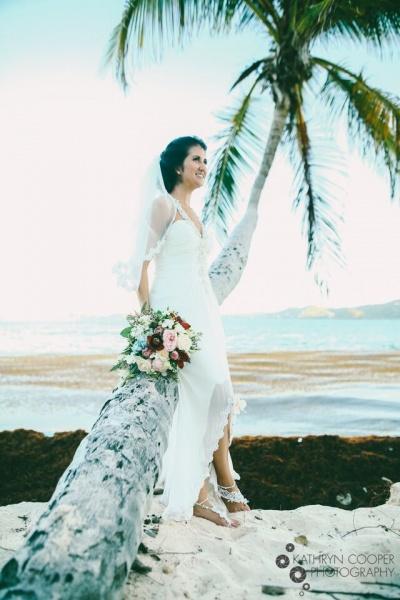 palm tree wedding